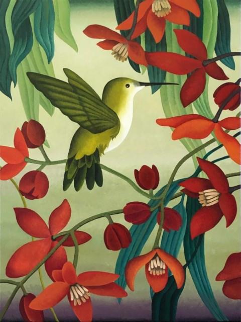 6606-zomerdijk-€1850,-Nectar, 110 x 80 cm